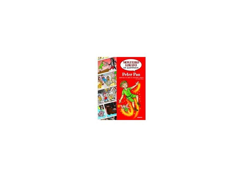 Peter Pan - Em Quadrinhos - Ortega, Denise - 9788525048547