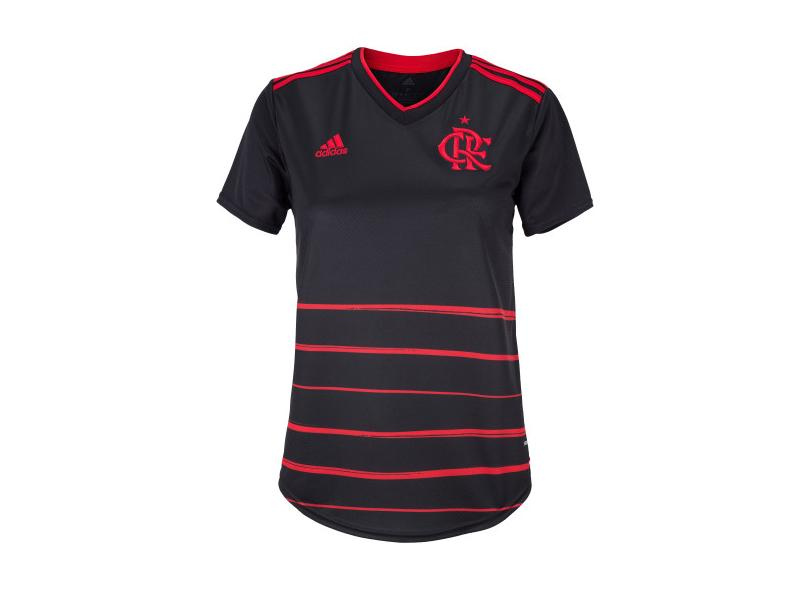 Camisa Torcedor Feminina Flamengo lll 2020/21 Adidas