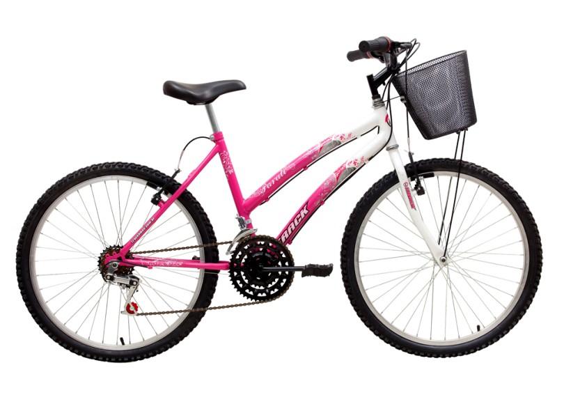 Bicicleta TRACK & BIKES Aro 24 18 Marchas Parati