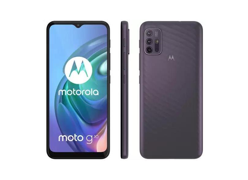 Smartphone Motorola Moto G G10 XT2127-1 64GB Câmera Quádrupla Qualcomm Snapdragon 460 Android 11