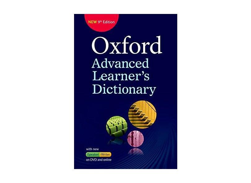 Oxford Advanced Learners Dictionary (+ DVD & Online Access Code) - Vários Autores - 9780194798792