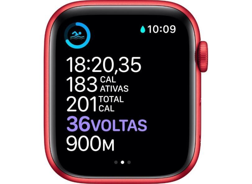 Smartwatch Apple Watch Series 6 Vermelho 4G 44.0 mm
