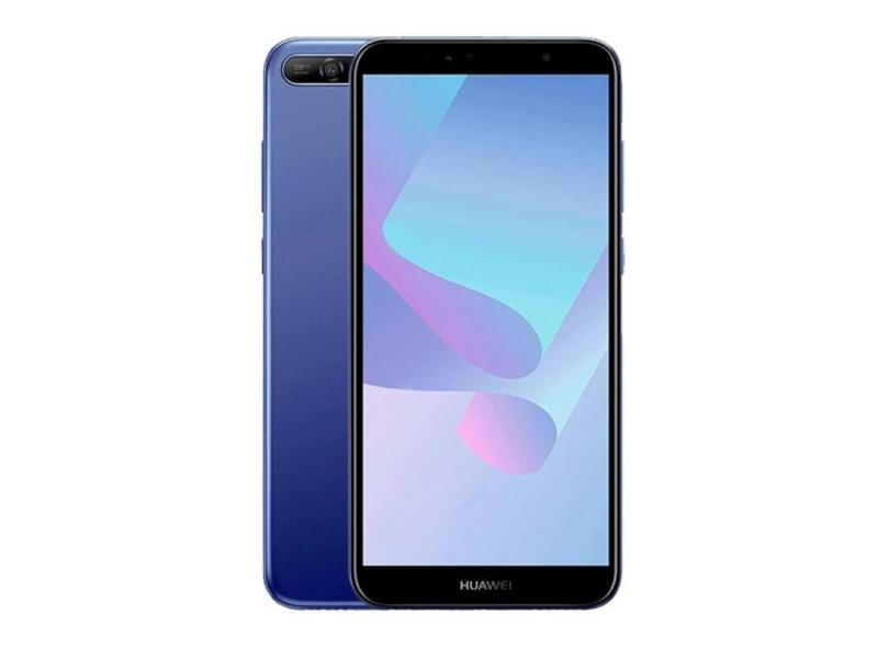Smartphone Huawei Y6 2018 16GB 13.0 MP 2 Chips Android 8.0 (Oreo) 3G 4G Wi-Fi