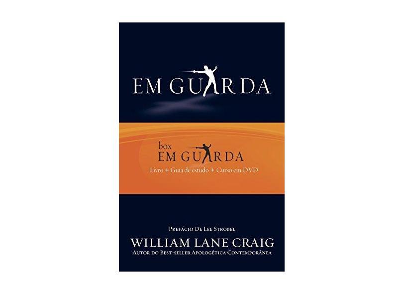 Em Guarda - Caixa com Guia de Estudo e Curso em DVD - William Lane Craig - 9798527500448