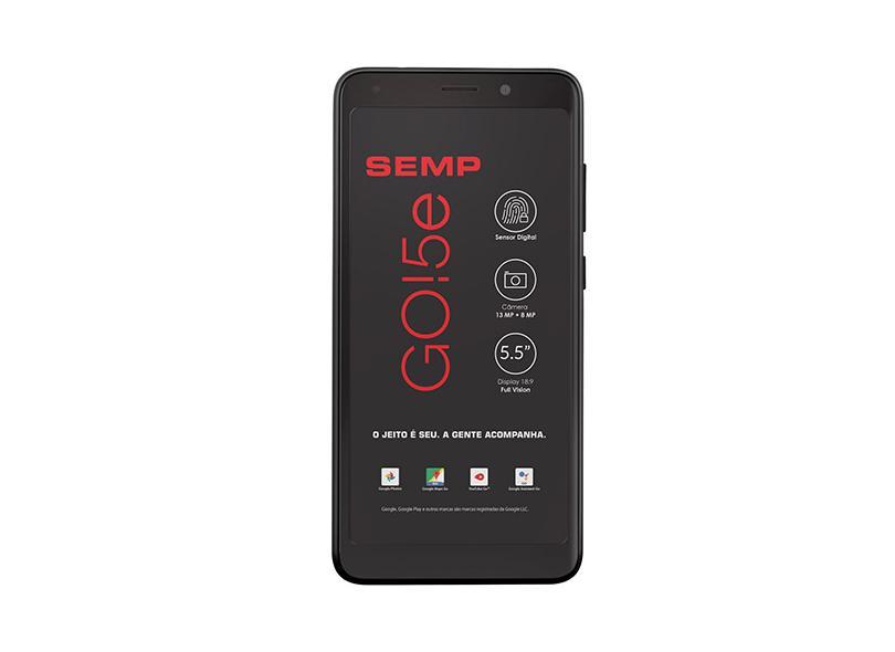 Smartphone Semp Toshiba GO5e 16GB 13.0 MP Android 8.1 (Oreo) 4G Wi-Fi