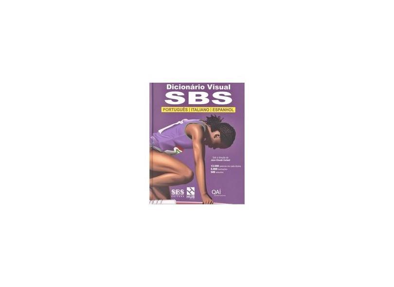 Dicionário Visual Sbs Português / Italiano / Espanhol - Ed. 2012 - Corbeil, Jean-claude - 9788580760736