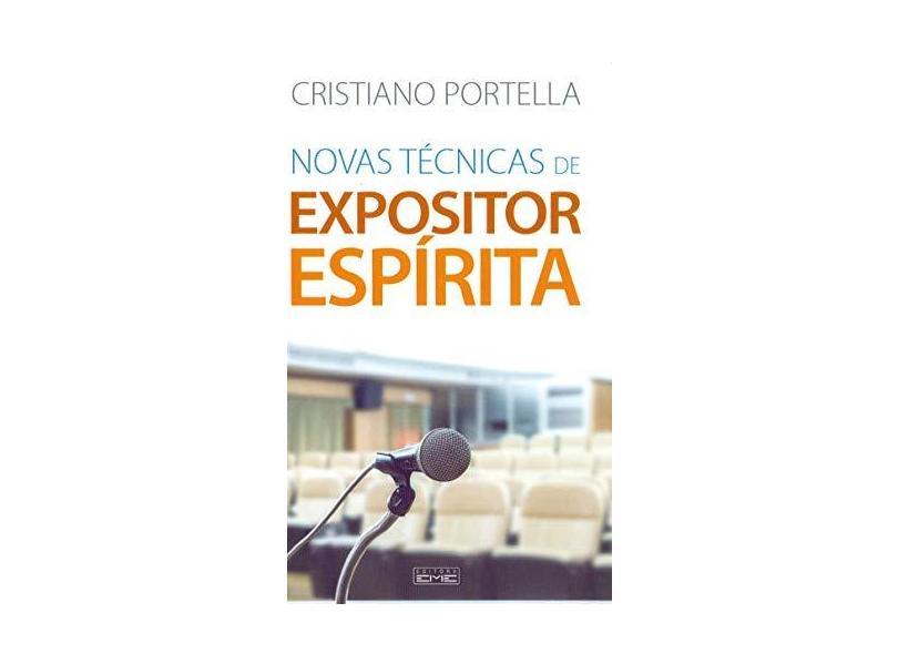 Novas Técnicas De Expositor Espírita - Portella,cristiano - 9788595440685