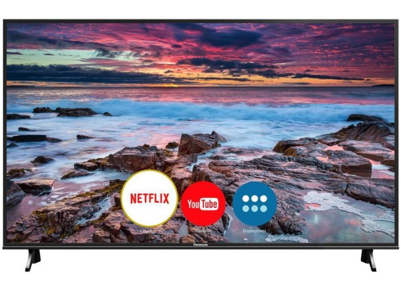 """Smart TV TV LED 49 """" Panasonic 4K Netflix TC-49FX600B 3 HDMI"""