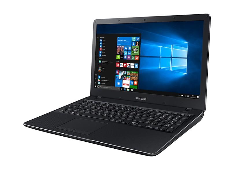 """Notebook Samsung Essentials Intel Core i3 6006U 4 GB de RAM 1024 GB 15.6 """" Windows 10 E34"""