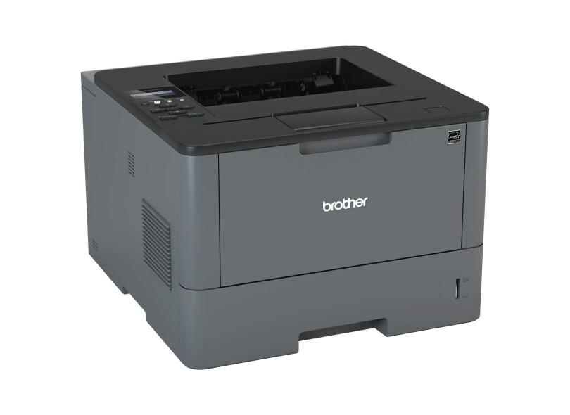 Impressora Brother HL-L5102DW Laser Preto e Branco Sem Fio