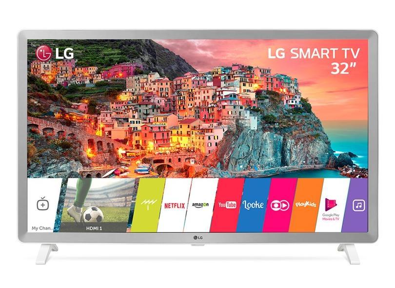 """Smart TV TV LED 32"""" LG Netflix 32LK610BPSA 3 HDMI"""