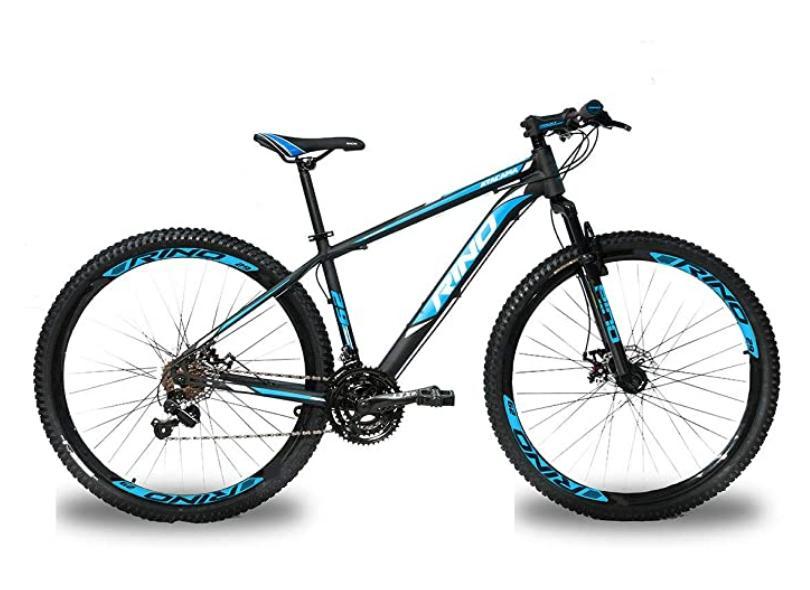 Bicicleta Rino Lazer 24 Marchas Aro 29 Suspensão Dianteira a Disco Hidráulico Atacama