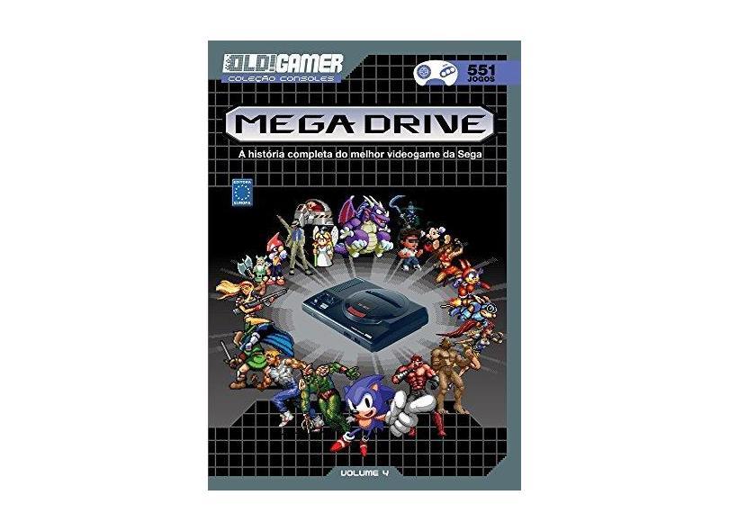 Dossiê Old!Gamer. Mega Drive - Vários Autores - 9788579603587