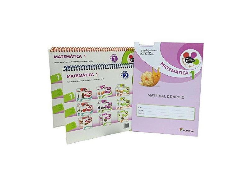 Projeto Presente - Educação Infantil - Matemática - 1º Ano - Editora Moderna - 9788516100759
