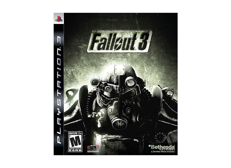 Jogo Fallout 3 Bethesda Ps3