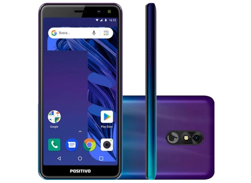 Smartphone Positivo Twist 3 Pro S533 64GB 8.0 MP 2 Chips Android 8.0 (Oreo)