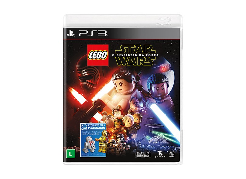 Jogo Lego Star Wars: O Despertar Da Força PlayStation 3 Warner Bros