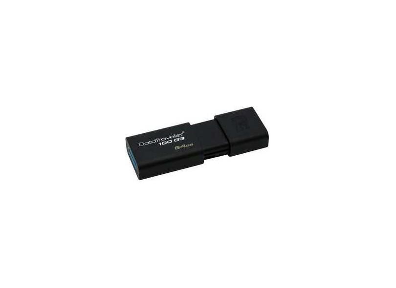 Pen Drive Kingston Data Traveler 64GB USB 3.0 DT100G3