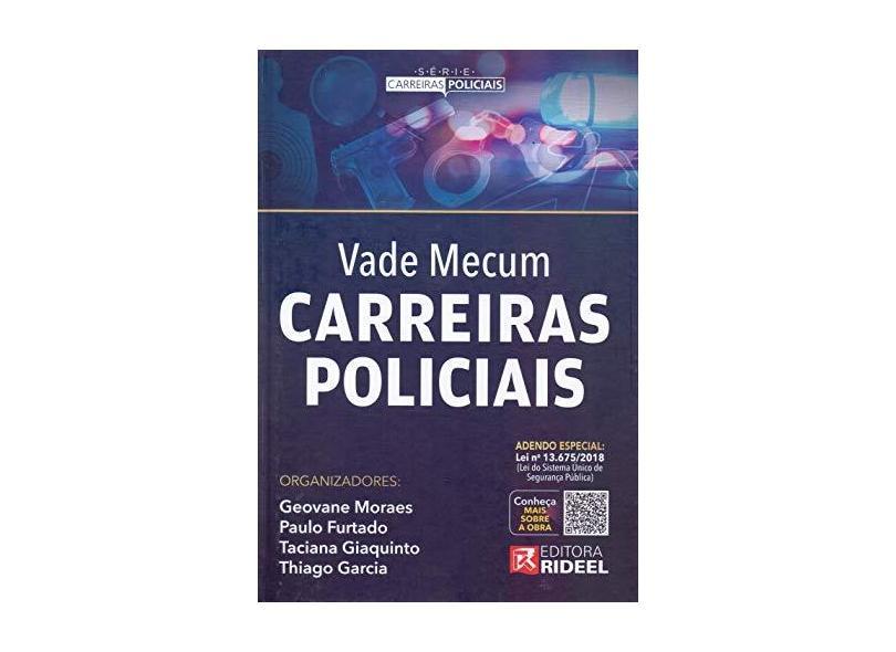 Vade Mecum Carreiras Policiais - Geovane Moraes - 9788533952843