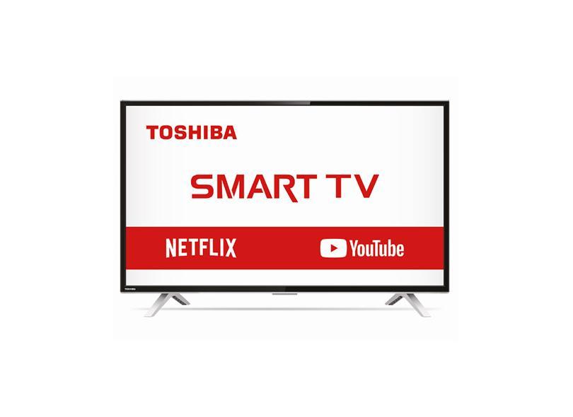 "Smart TV TV LED 32 "" Semp Toshiba Netflix 32L2800 3 HDMI"