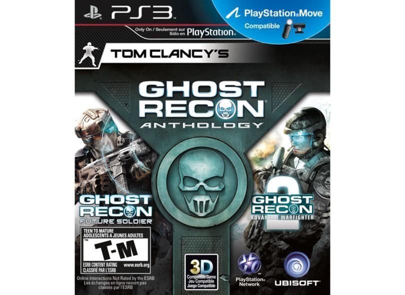 Jogo Tom Clancy's: Ghost Recon Anthology PlayStation 3 Ubisoft