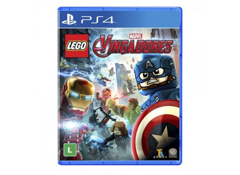 Jogo Lego Vingadores PS4 Warner Bros