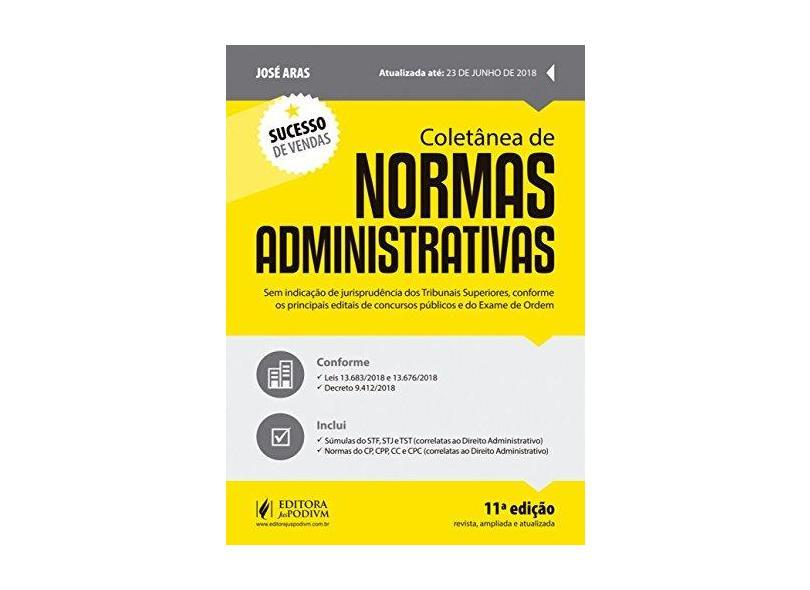 Coletânea de Normas Administrativas - José Aras - 9788544221037