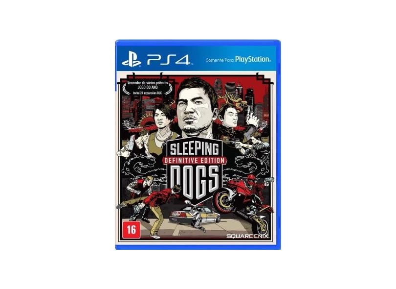 Jogo Sleeping Dogs PS4 Square Enix