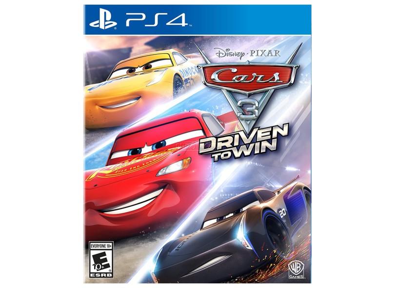 Jogo Cars 3 Driven to Win PS4 Warner Bros