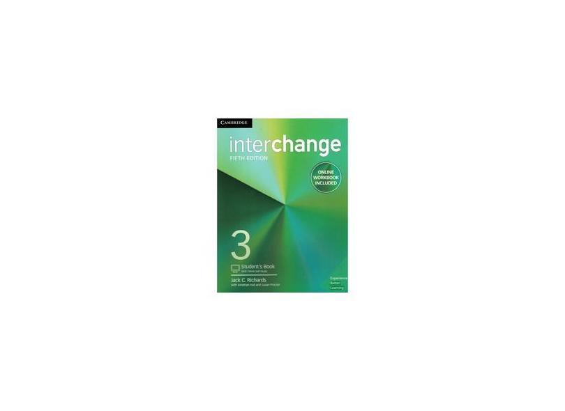 Interchange Level 3 Student's Book with Online Self-Study and Online Workbook - Jack C. Richards - 9781316620557