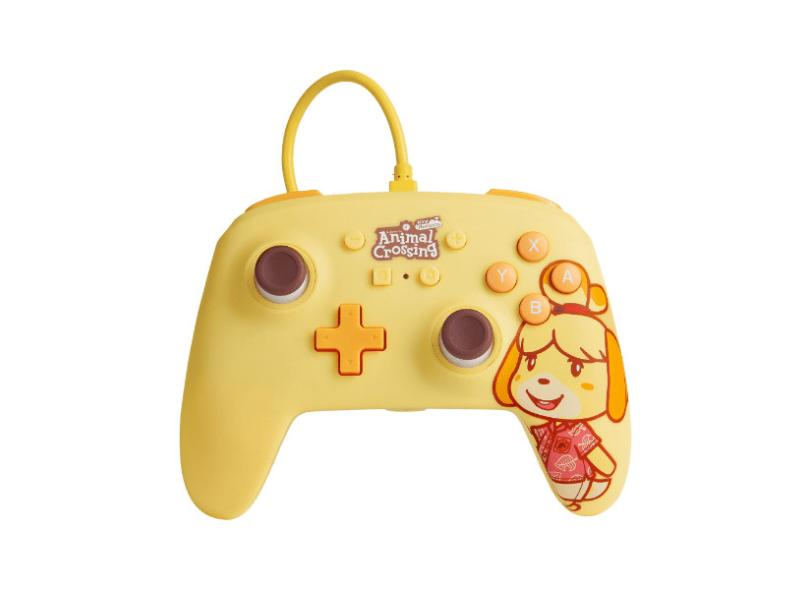 Controle Nintendo Switch Animal Crossing: Isabelle - Power A