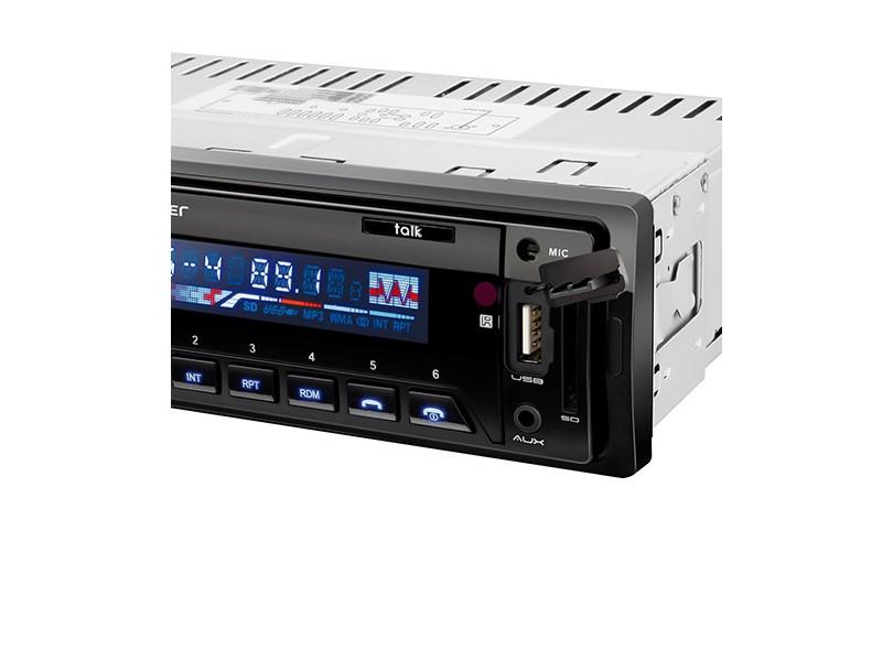Som Automotivo MP3 Multilaser P3214