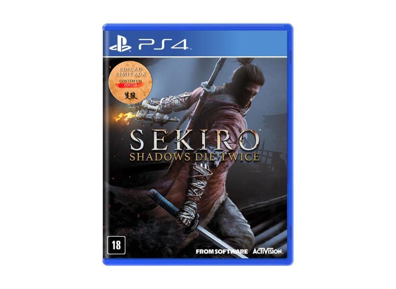 Jogo Sekiro: Shadows Die Twice PS4 From Software