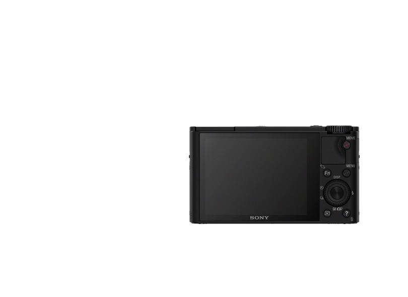 Câmera Digital Sony Cyber-Shot 20,2 MP Full HD DSC-RX100