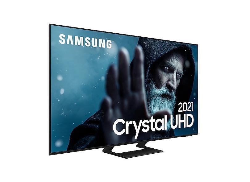 "Smart TV TV LED 65"" Samsung Crystal 4K HDR UN65AU9000GXZD 3 HDMI"