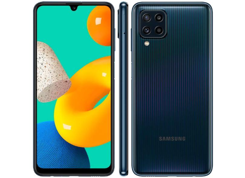 Smartphone Samsung Galaxy M32 SM-M325F 6 GB 128GB Câmera Quádrupla 2 Chips Android 11