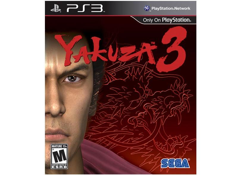 Jogo Yakuza 3 Sega PS3