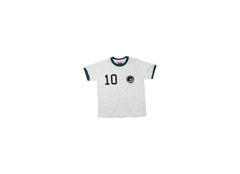 Camisa Retrô Infantil Cosmos 1976 Liga Retrô
