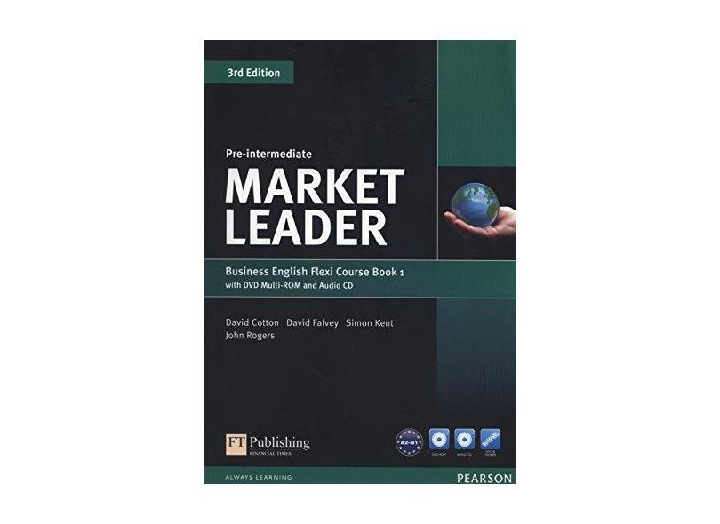 Market Leader - Pre-Intermediate Flexi Course Book 1 Pack - 3Rd Edition - Cotton, David - 9781292126128