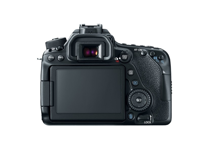 Câmera Digital DSLR(Profissional) Canon EOS 24.2 MP Full HD 80D