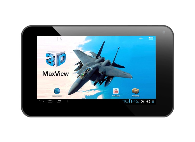 """Tablet DL Smart 3D MaxView 3D 8 GB 7"""" Wi-Fi Android 4.0 (Ice Cream Sandwich) 2 MP TD-M71"""
