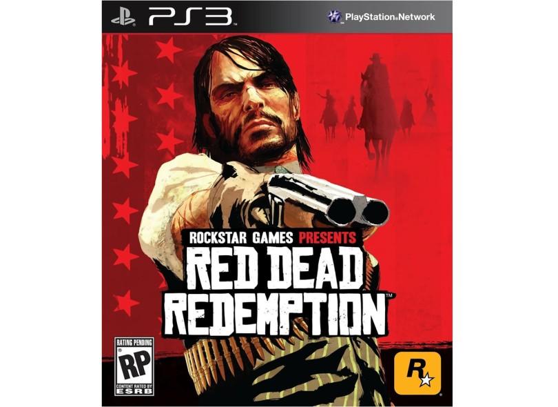 Jogo Red Dead Redemption Rockstar PS3