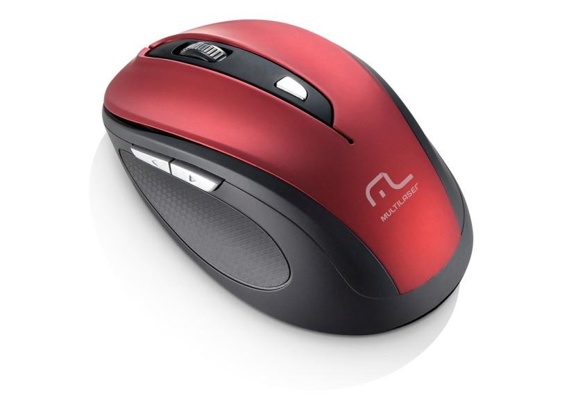 Mouse Óptico Notebook sem Fio Comfort MO237 - Multilaser