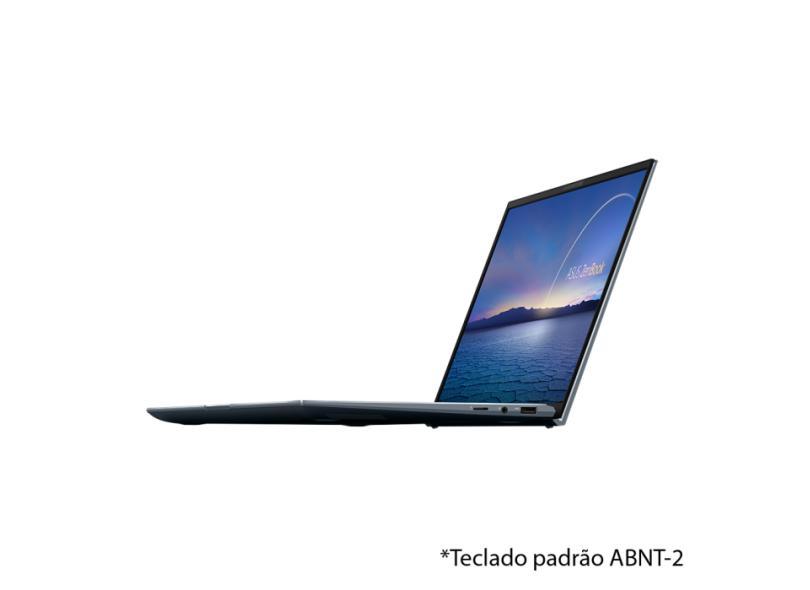 """Notebook Asus Zenbook 14 Intel Core i7 1165G7 11ª Geração 8 GB de RAM 512.0 GB 14 """" Full Windows 10 UX435EA-A5072T"""