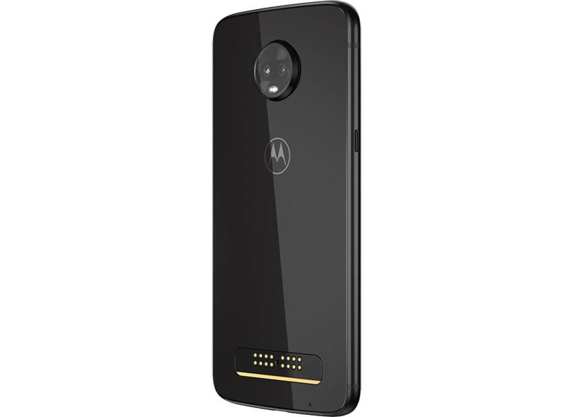 Smartphone Motorola Moto Z Z3 Play XT1929-5 128GB 12,0 MP 2 Chips Android 8.1 (Oreo) 3G 4G Wi-Fi