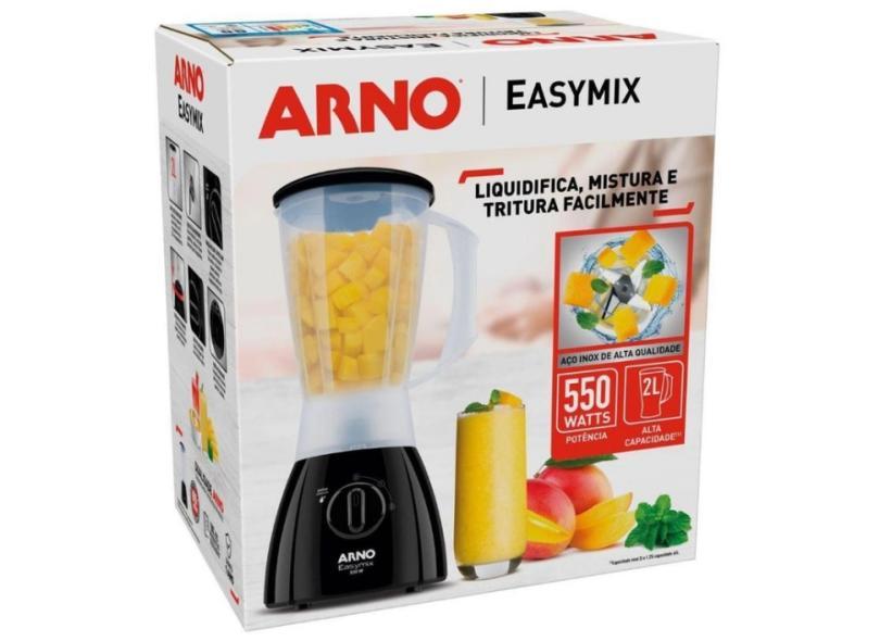 Liquidificador Arno Easymix LN20 2 l 2 Velocidades 550 W
