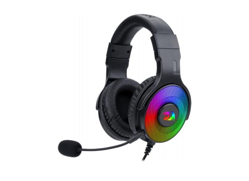 Headset Gamer com Microfone Redragon Pandora H350RGB-1