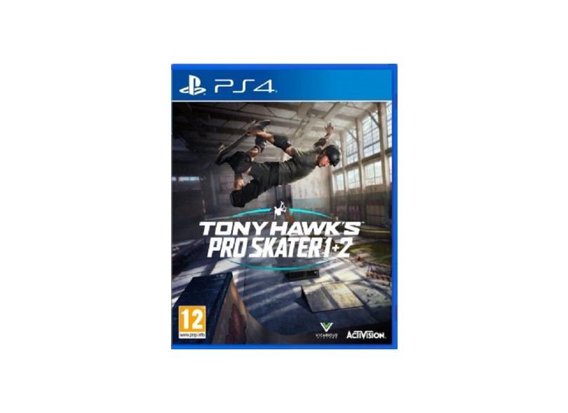 Jogo Tony Hawk 1 + 2 PS4 Activision