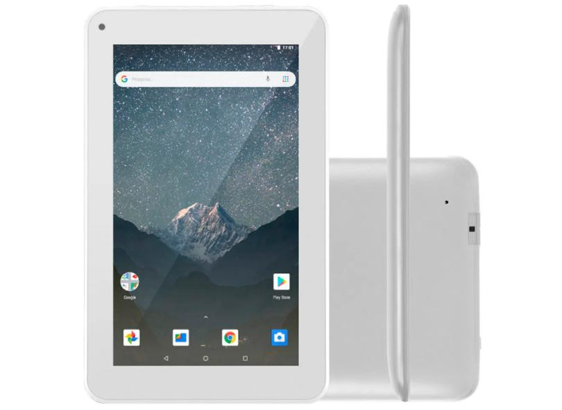 """Tablet Multilaser M7S Go Quad Core 16GB LCD 7"""" Android 8.1 (Oreo) NB316"""