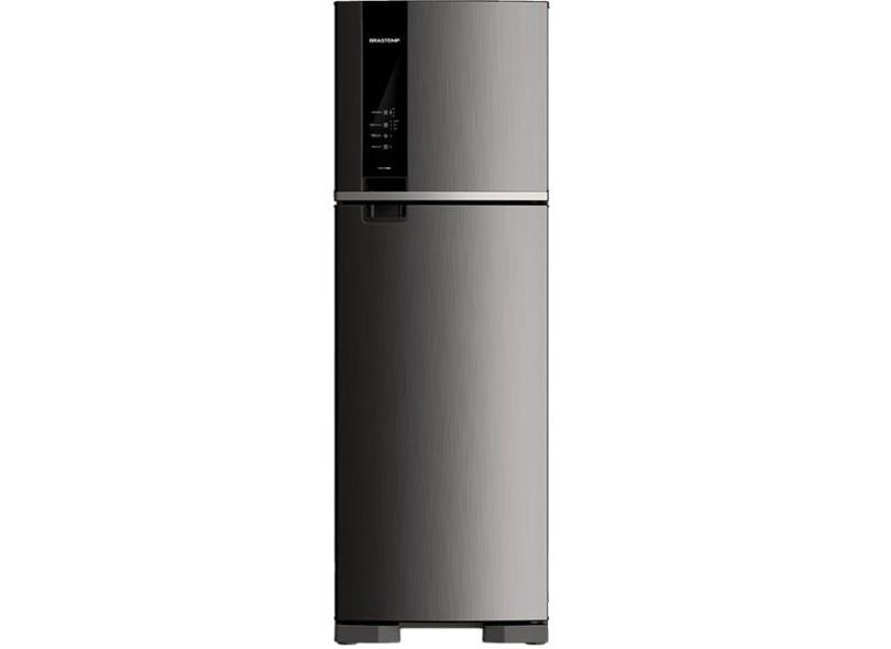 Geladeira Brastemp Frost Free Duplex 400 l Inox BRM53HK